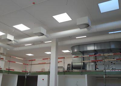 Ventilatie kantoorgebouw