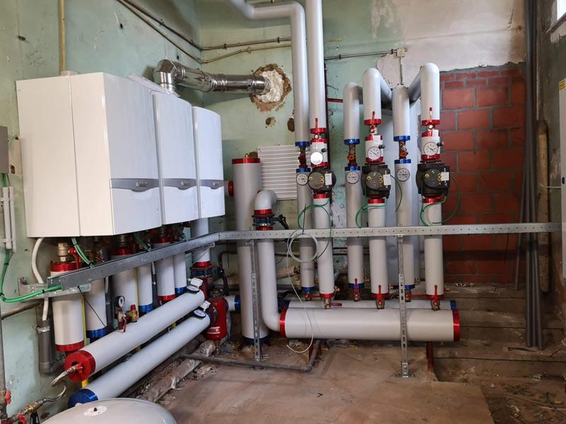 Verwarmingsinstallatie Leielandschool Zwevegem